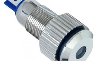 Anti Vandal indicator lamp 8mm