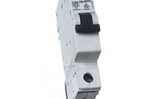 240v 120g single pole circuit breaker