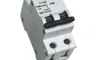 2P 410V 30A miniature circuit breaker