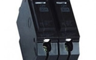 415V 2P miniature circuit breaker black color mem mcb