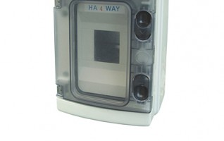 ABS/PC 5-25 ways HA Plastic box HA series