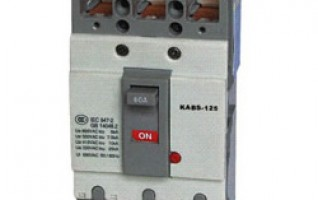 60A double pole circuit breaker moulded case circuit breaker