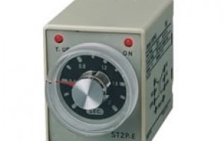 Din Rail Mounting Timer Time Relay ST2P