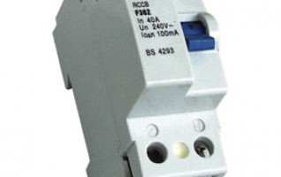 F360 1P2P4P 1Phase 230V and 3Phase 400VRESIDUAL CURRENT CIRCUIT BREAKER