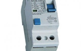 FIN 415V 1P 2P 3P 4P RESIDUAL CURRENT CIRCUIT BREAKER rcd electric