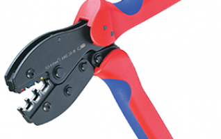 FSE Series-1 RATCHET CRIMPING PLIER (EUROPEAN STYLE)  0.14-6mm2