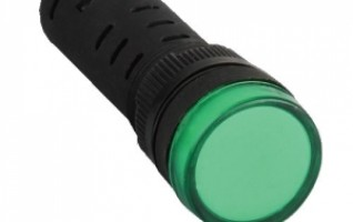 AD60C-16DC 16mm AD60C Green Color series indicator lamp