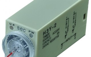 Time Relay Din Rail Mounting Timer Time delay relay 120v