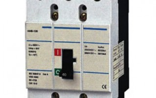 HHB 20Amp MOULDED CASE CIRCUIT BREAKER