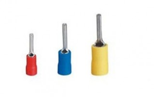 PTV series Insulated pin male terminals