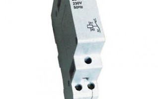 Double pole circuit breaker 63A Mini Circuit Breaker