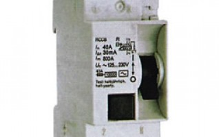 R101 1P2P4P 40a rcd RESIDUAL CURRENT CIRCUIT BREAKER