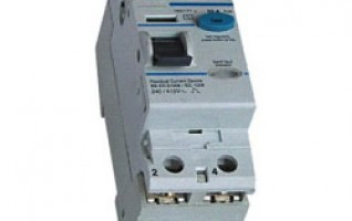 RC 2P4P RESIDUAL CURRENT CIRCUIT BREAKER electric rcd