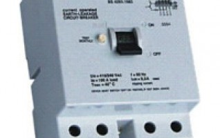 2P 4P IP40 RESIDUAL CURRENT CIRCUIT BREAKER rcd in series