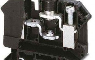 Screw terminal block/UK10-DREHSI