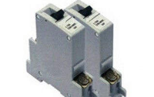W40 AC 3 pole circuit breaker mcb