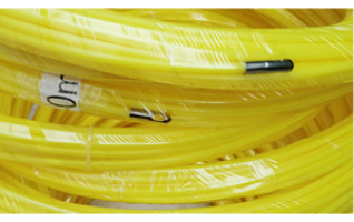 Yellow Nylon fish tape