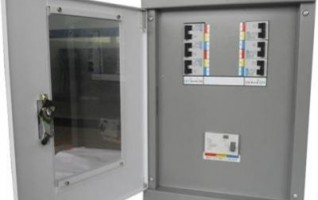 ABB Din rail type Three phase distribution box