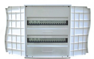Double door distribution board 20~40 ways