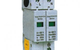 220V series surge proctect device for power distribution system electrical rcd