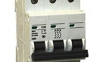 IP20 3P Mini Circuit Breaker types of circuit breaker