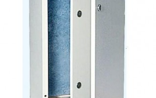 MEI  IP 65 Inner out  double door metal enclosure control box