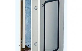 PLEXI window door enclosure outdoor cable distribution box