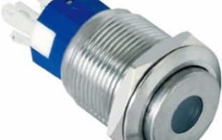 19-C4 19mm 5A dot illuminated self-locking 1NONC or 2NONC high flush IP67 push button switch