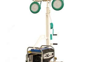 MO-4400 manual mobile trailer light tower