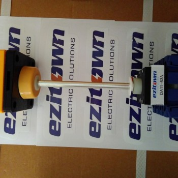 Ezitown isolator changeover switch 63A with long rod