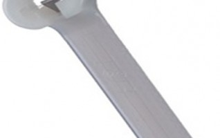 Stainless steel plate lock cable ties