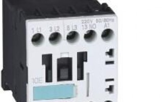 3RT Series AC Contactor 1NO 1NC