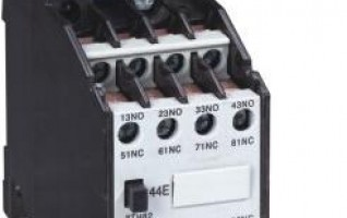 CS3TX/3TH(3TH) Series Auxiliary Contactor