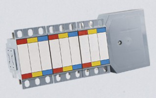 Large Ampere Comb-Shaped Conlux Busbar