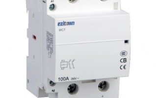 WCT 100A Magnetic Contactor Electric Modular DIN Rail Mounting