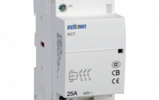 WCT 25A AC Household Contactor Mounting AC 2P 3P 4P Manually-operated