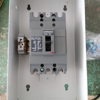 EZITOWN BRAND MCCB ENCLOSURE MOULDED CIRCUIT BREAKER WITH BOX