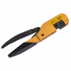 YJQ-W5 Multifunction Crimping Cutting pliers chrome vanadium yellow turned solid Hand crimp tool
