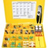 Ezitown 175-3700 Deutsch Improved Seal DT-Series Field Service Kit with 1U5804 Crimp Tool