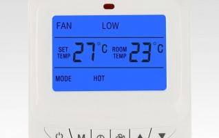Ezitown DW-T909 home use auto adjustable room thermostat