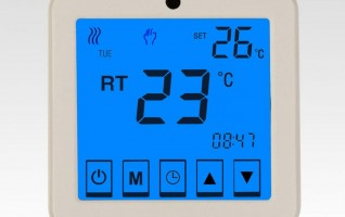 WSK-9C Ezitown house Digital touch screen floor heating room thermostat