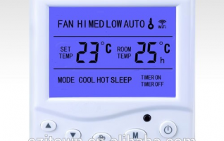 Ezitown WIFi-9A home thermostat wifi temperature controller can be controlled by mobile phone
