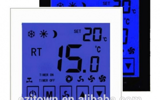 Ezitown DW-T902 smart digital room thermostat type digital thermostat with touch screen