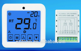 Ezitown WSK-9H house electric digital touch screen room thermostat