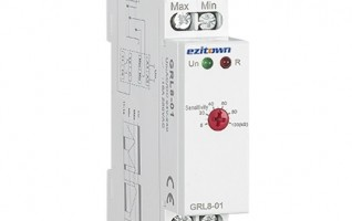 Ezitown Multi Function 2 levels Din Rail Type Water Level Control Relay GRL8-01 02
