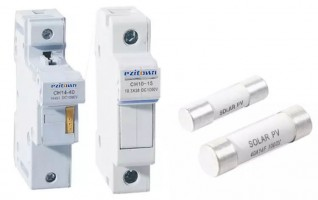 Din rail type Solar PV Protection fuse