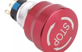 19mm Emergency Stop Push Button Switch