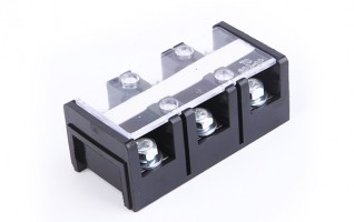 Ezitown high quality TC-603 high current terminal, 3-position fixed terminal block, terminal post for Industry