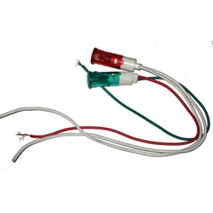 10mm 12mm AC 220v DC12 24 48 small size indicator 1-07