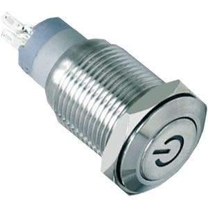 16-C5steel push button switch